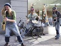 180427 Bicycle Beat Drottninggatan front